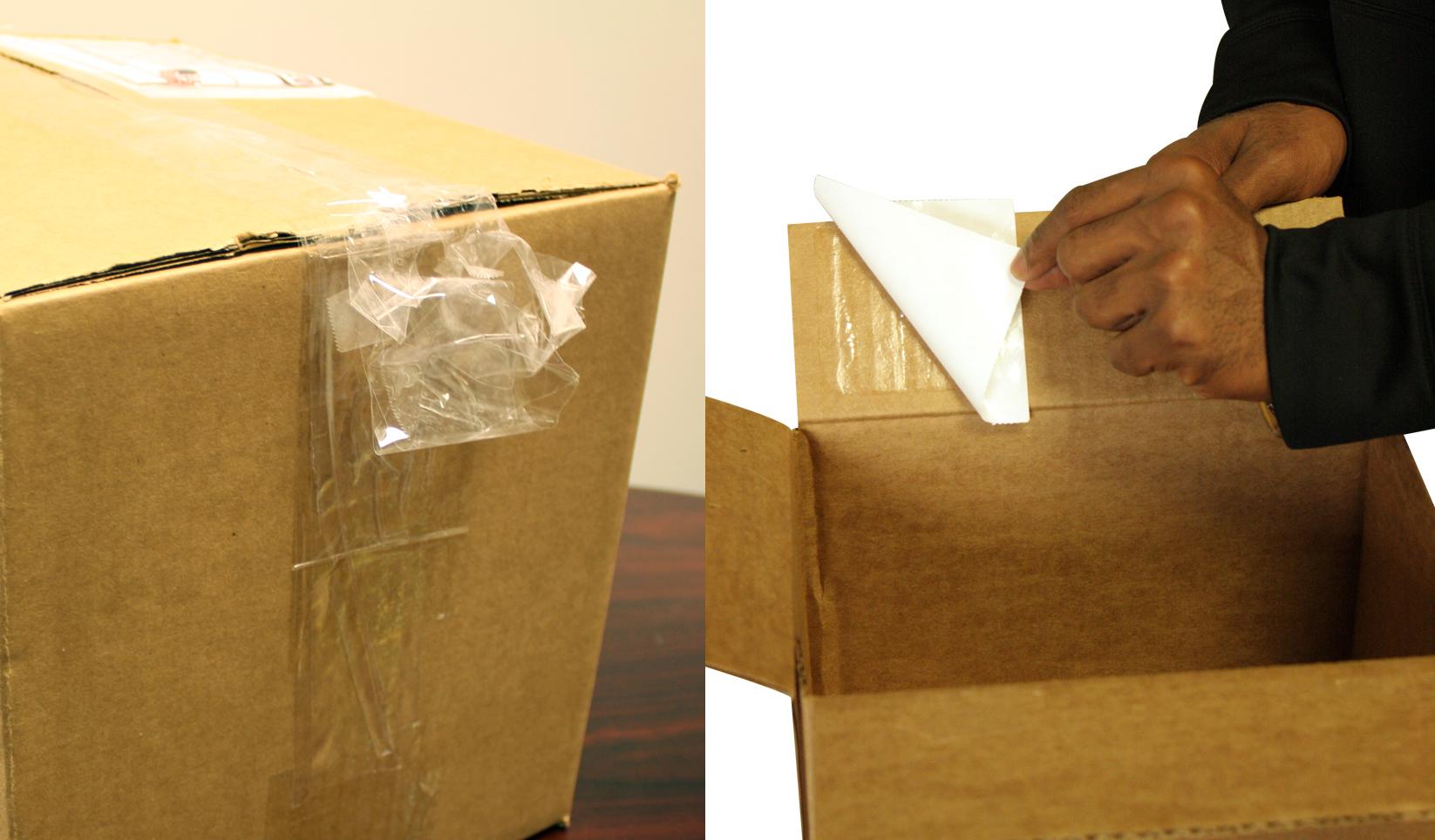 Tape vs. Adhesive Squares™