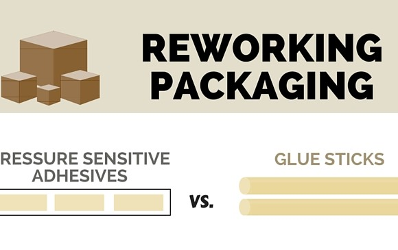 Reworking Packaging: Pressure Sensitive Adhesives vs. Glue Sticks