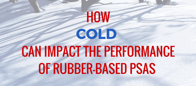 How Cold Affects Rubber-Based PSA Performance